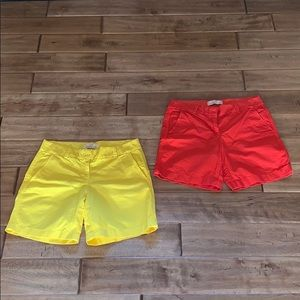 Mid Thigh JCREW China Shorts!